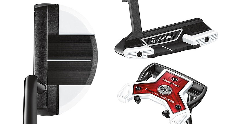 TaylorMade has updated three counterbalanced putters -- the Daddy Long Legs, Spider Blade and Spider Mallet -- using feedback from PGA Tour staffers such as Sergio Garcia and Jason Day.