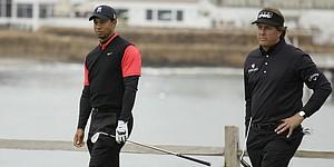 PGA Championship tee times pair Tiger, Phil