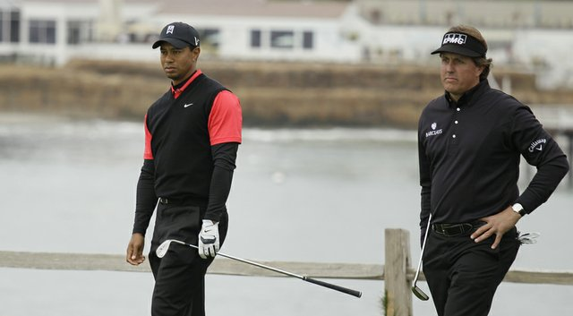 Tiger Woods and Phil Mickelson are set to share a tee time during the first two rounds of the 2014 PGA Championship at Valhalla (shown here in 2012).