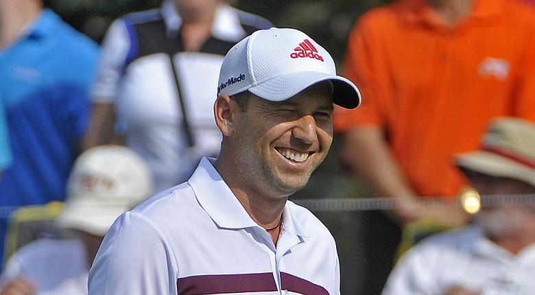 Sergio Garcia during Saturday's third round of the WGC-Bridgestone on PGA Tour.