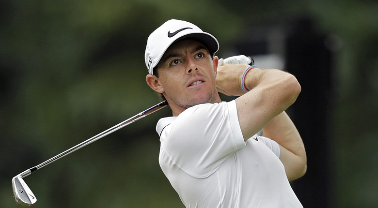Rory McIlroy during the 2014 WGC-Bridgestone Invitational on PGA Tour.