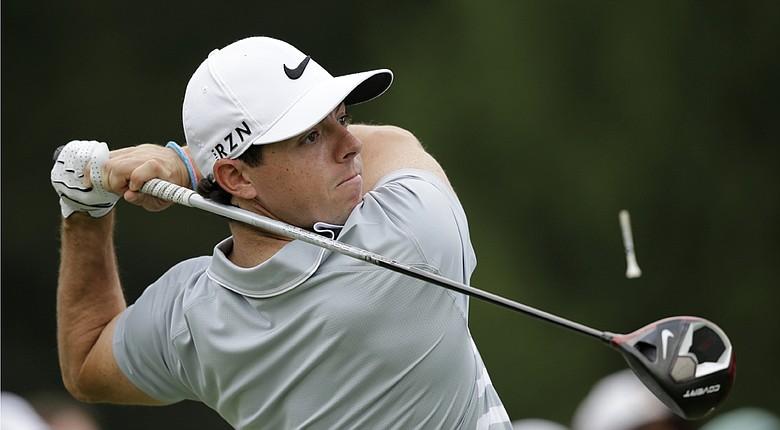 Rory McIlroy during Sunday's final round of the 2014 WGC-Bridgestone Invitational on PGA Tour.