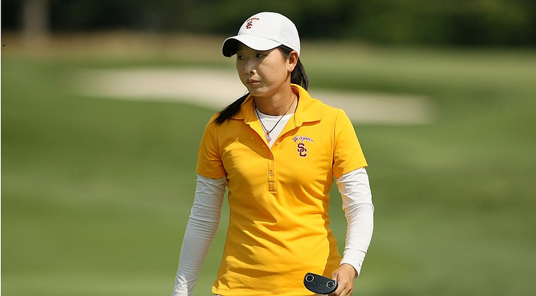 Doris Chen withdrew during stroke play at the 2014 U.S. Women's Amateur, citing an ankle injury.