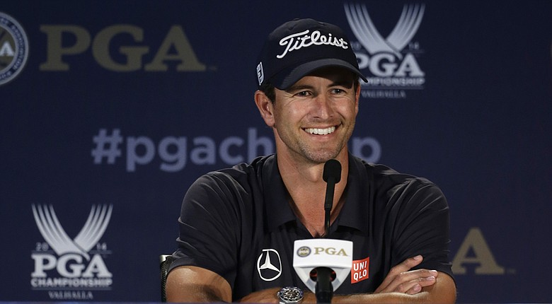 Adam Scott has two top-10 finishes in 2014 majors.