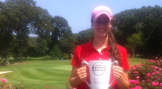 Sophie DiPetrillo won the Golfweek New England Junior Invitational by one shot.