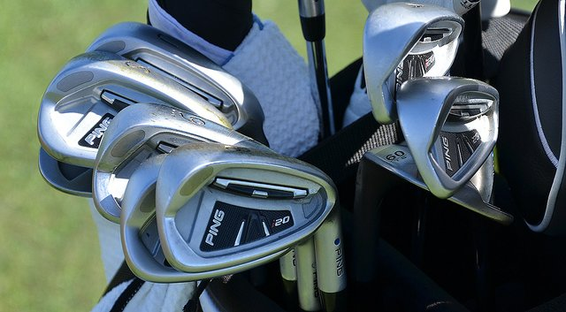 A look at the bag of Lee Westwood, who shares the 18-hole lead at the 2014 PGA Championship.