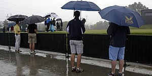Rain pounds Valhalla; forecast isn't promising