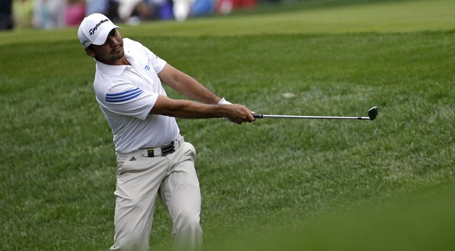 Jason Day will play alongside Rory McIlroy on Saturday in the final pairing at the PGA Championship.