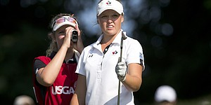 Henderson leading U.S. Women's Am final