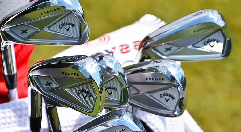 Phil Mickelson's equipment at the 2014 PGA Championship.
