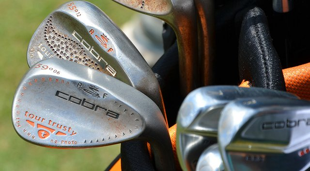 Rickie Fowler's bag from the 2014 PGA Championship.