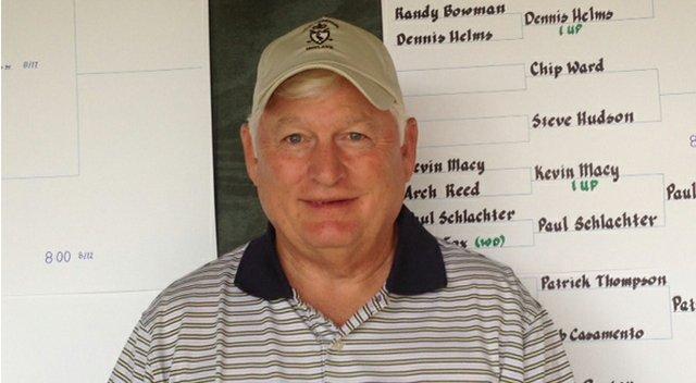 Bill Leonard defeated Ken Larney at the Golfweek Senior National Play Match Championship.