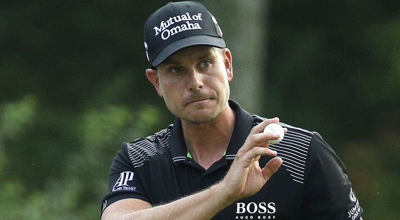 Henrik Stenson during Sunday's final round at the 2014 PGA Championship at Valhalla.