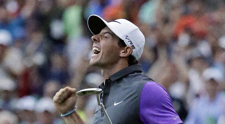 Rory McIlroy after winning the 2014 PGA Championship on Sunday at Valhalla.