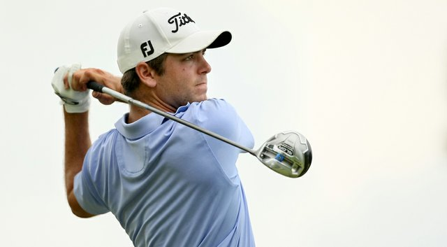 Jonathan Garrick during the 2014 U.S. Amateur at the Atlanta Athletic Club Highlands Course.