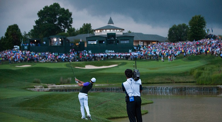 The PGA Championship at Valhalla provided a dramatic stage for Rory McIlroy's second major title of 2014.