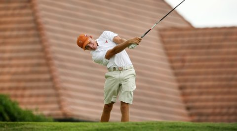 Taylor Funk, son of PGA Tour winner Fred Funk, advanced to match play at the U.S. Amateur behind a 4-under 68 on Tuesday at the Atlanta Athletic Club.