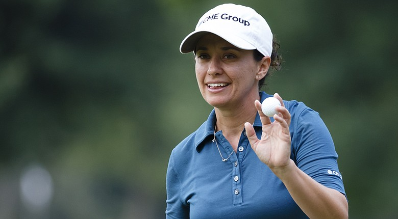 Mo Martin heads to the 2014 Wegmans LPGA Championship looking for her second major championship.