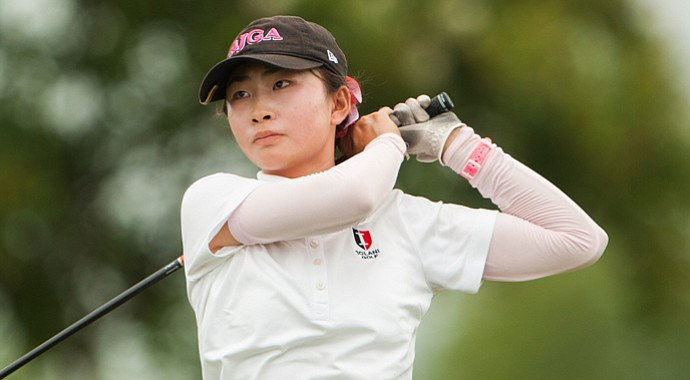 Rose Huang during the Junior PGA Championship.