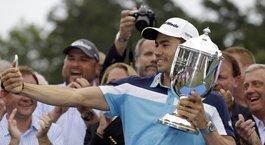 Villegas wins Wyndham Championship