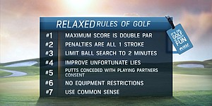 Golf Channel promotes 'Relaxed Rules' initiative