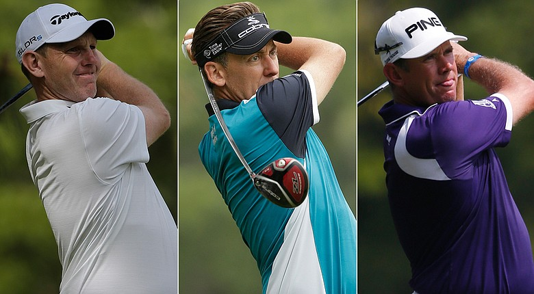 Stephen Gallacher, Ian Poulter and Lee Westwood were named captain's picks for the 2014 European Ryder Cup squad.