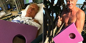 Greg Norman recovering from chain-saw accident