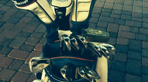 Derek Fathauer's winner's bag for the 2014 Web.com Tour Finals