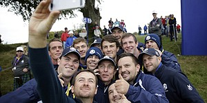 Europe keeps it light in preparation for Ryder Cup