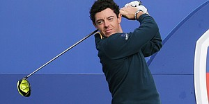 McIlroy using prototype Nike driver at Gleneagles