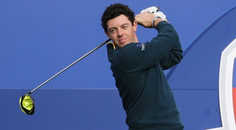 Rory McIlroy was spotted using what appears to be a prototype Nike Vapor driver in preparation for the 2014 Ryder Cup at Gleneagles.