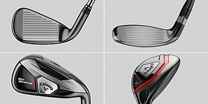 Callaway Big Bertha irons, hybrids