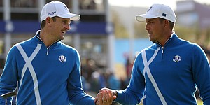 Ryder Cup pairings for Saturday four-balls