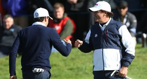 Which ball is played in Ryder Cup foursomes?