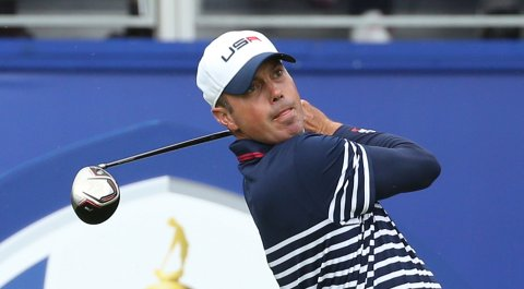 Matt Kuchar during Sunday singles play at the 2014 Ryder Cup at Gleneagles in Scotland.