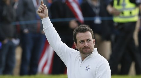 Graeme McDowell during the 2014 Ryder Cup at Gleneagles in Scotland.