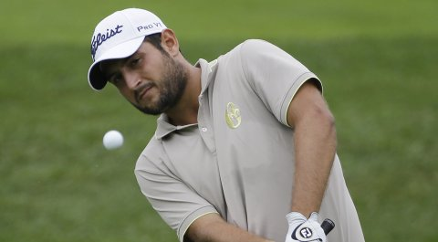 Alexander Levy won the rain-shortened 2014 Portugal Masters on European Tour (shown here during the PGA Championship).