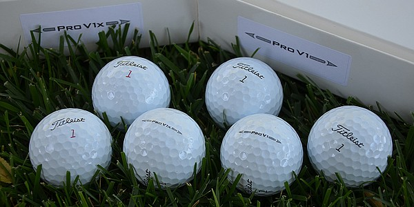Titleist brings new Pro V1, Pro V1x balls to PGA Tour