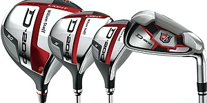 Wilson Golf D200 drivers, irons, hybrids, fairway woods
