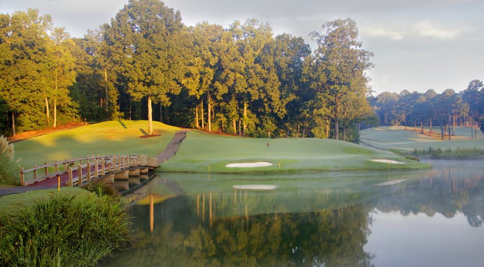 Golf wedges its way into the Athens, Ga., scene amid music and foodie scenes -- even on fall weekends when rabid Bulldogs fans and UGA alums focus on a rich football tradition.