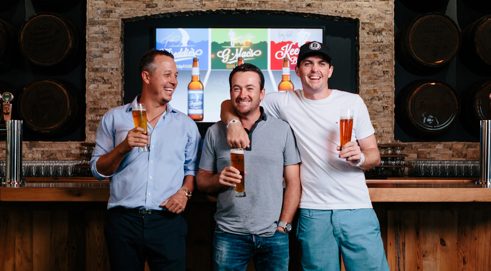 Graeme McDowell has joined fellow PGA Tour players Freddie Jacobson and Keegan Bradley on a venture called GolfBeer Brewing Co., with each man putting his name on a signature beer.
