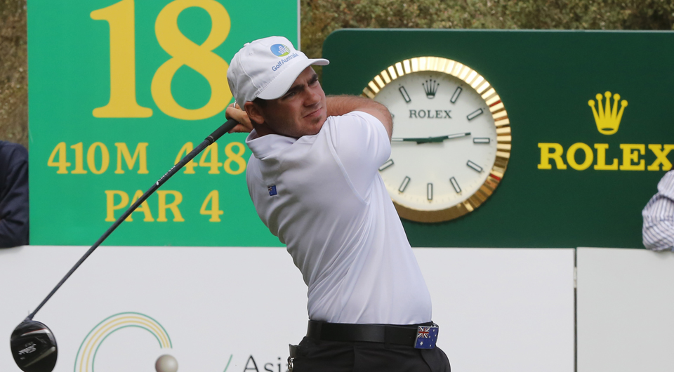 Antonio Murdaca hit the gas Saturday at the Asia-Pacific Amateur, and will take an eight-shot lead into the final round at Royal Melbourne Golf Club's Composite Course.