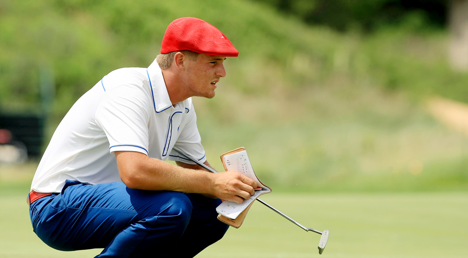 Bryson Dechambeau, a junior at SMU, has become one of the top players in college golf despite balancing the workload of a physics major and a demanding practice schedule.