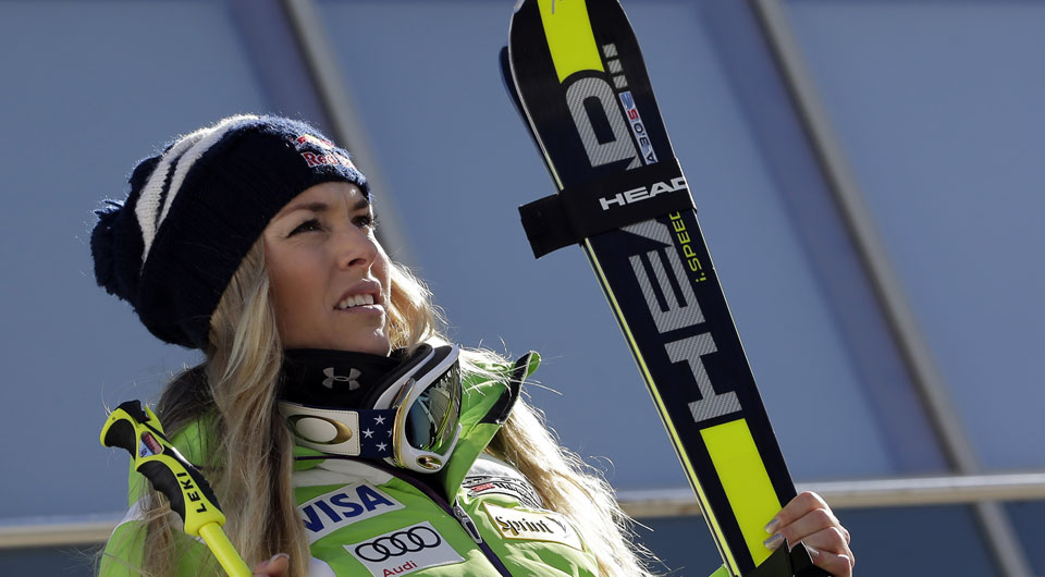 Lindsey Vonn has voiced support for boyfriend Tiger Woods in the aftermath of a parody directed at Woods by Golf Digest writer Dan Jenkins.