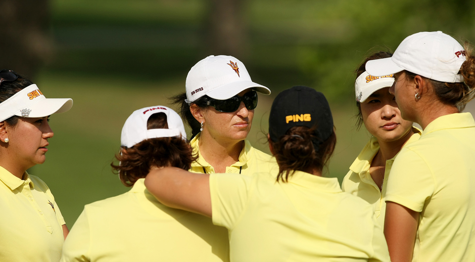 Melissa McNamara Luellen will be inducted into the Women's Golf Coaches Hall of Fame next month, joining her mother Dale McNamara who was inducted in 1988.
