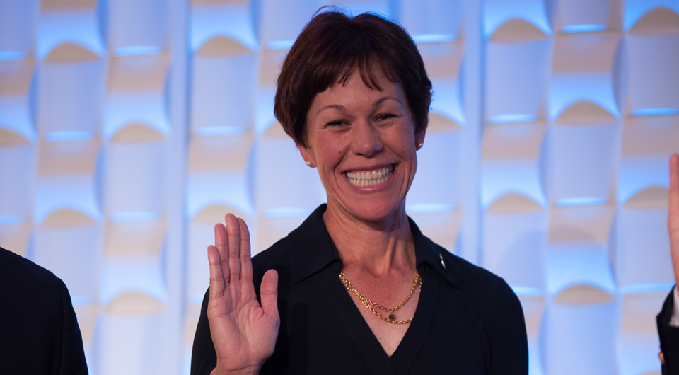 In a vote that lasted only 30 seconds, the PGA of America not only elected its first female officer in the history of the organization, Suzy Whaley, but also moved past the overhang of removing former president Ted Bishop just a month ago for insensitive and sexiest remarks in a tweet.