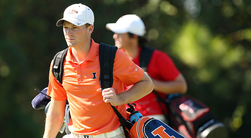 Men's college golf team of the fall, Illinois Fighting ...