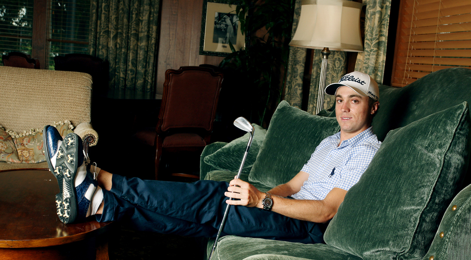 After plotting his route to the PGA Tour, Justin Thomas envisions a career that's more marathon than sprint.