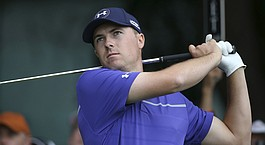 Spieth steals show with opening 67 in Australia