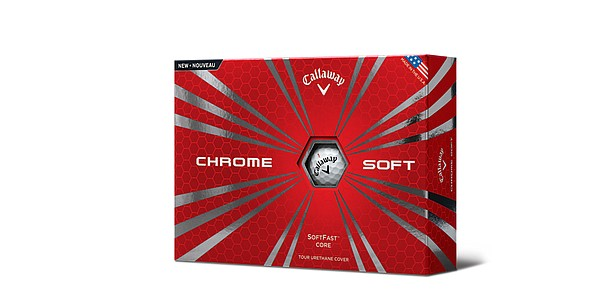 Callaway introduces Chrome Soft golf ball
